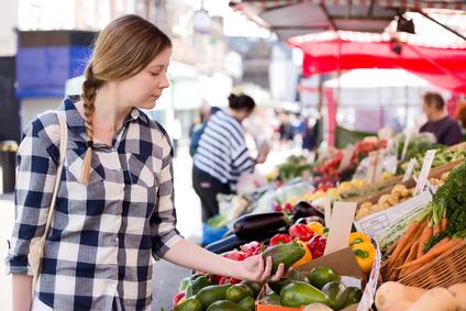 Olivový obchod na farmářských trzích