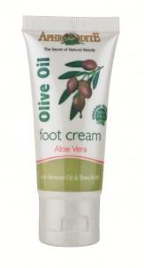 Krém na nohy s olivovým olejem a Aloe Vera, 30 ml, Aphrodite