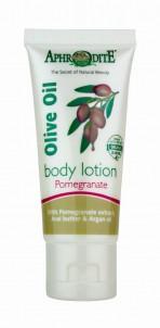 Tělové mléko s olivovým olejem a Granátovým jablkem, Aphrodite 30 ml