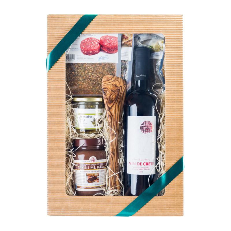 Dárkový olivový balíček Poseidón