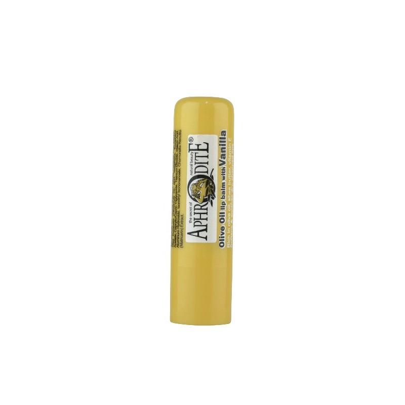 Aphrodite Skin Care Balzám na rty s olivovým olejem, vanilka, Aphrodite, 4 g