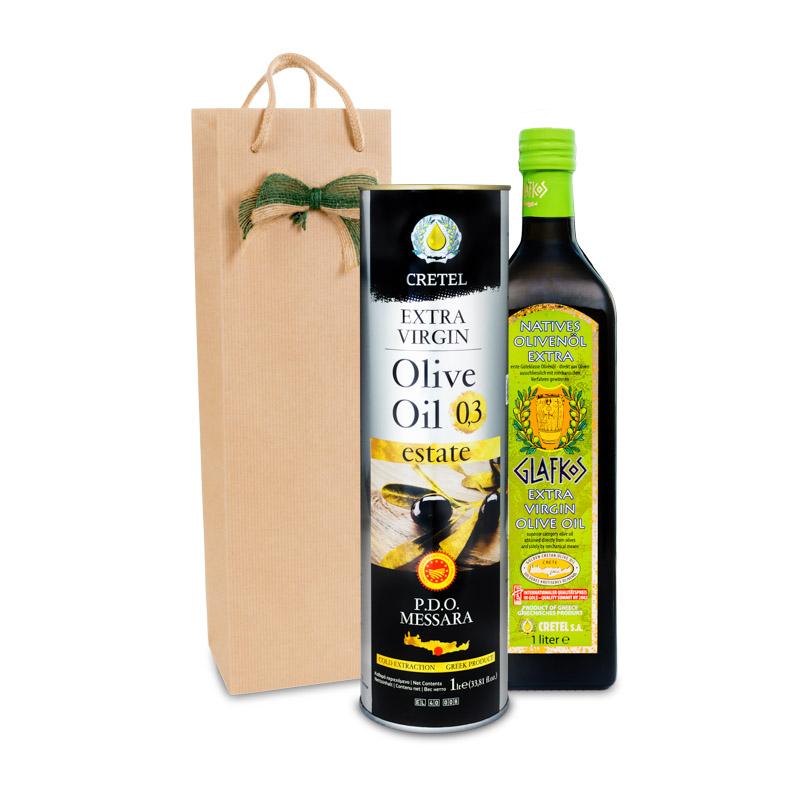 Dárkový olivový balíčekThéseus Glafkos 1000 ml