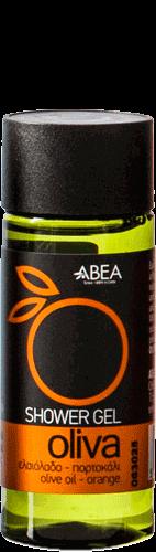 Image of Sprchový gel s olivovým olejem a pomerančem OLIVA Travel 35 ml Abea