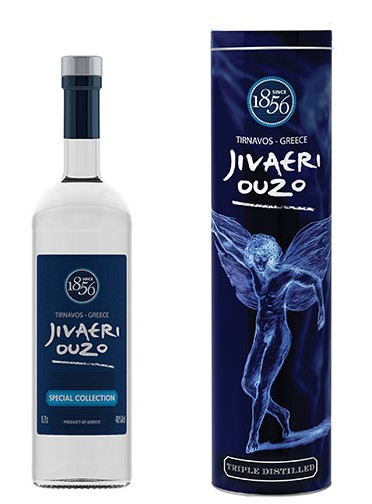 Ouzo Jivaeri Triple Distilled 0,7l