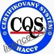 HACCP certifikát Olivový olej GLAFKOS